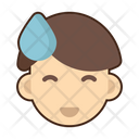 Awkward Emoji Face Icon