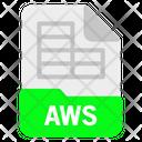 Aws file Icon