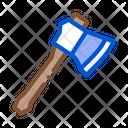 Small Camping Ax Icon
