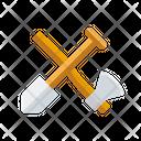 Axe Showel Hatchet Icon