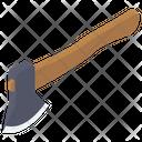 Woodcutting Axe Hatchet Icon