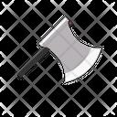 Axe Cutting Icon