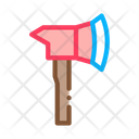 Axe Equipment Firefighter Icon