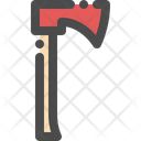 Axe Tool Wood Icon
