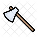 Axe Cut Tools Icon