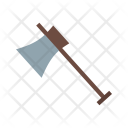 Wood Cutter Axe Icon