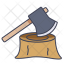 Axe Wood Ax Icon