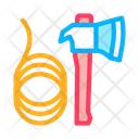 Ax Rope Rescuer Icon