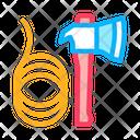 Ax Rope Rescuer Icon