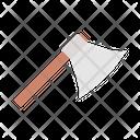 Axe Cut Wood Icon