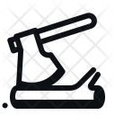 Axe Wood Cut Icon