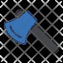 Axe Tools Construction Icon
