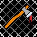 Axe Blood Halloween Icon