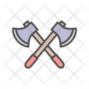 Axe Cross Fight Icon