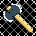 Axe Sickle Evil Icon