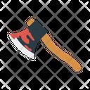 Axe Hatchet Blood Icon