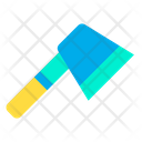 Hatchet Adventure Camping Icon