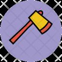 Axe Cutting Tool Icon