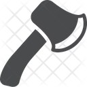 Hatchet Tool Carpenter Tool Icon