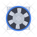 Axial Electrical Fan Icon