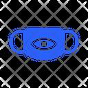 Aye Mask Virus Icon