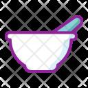 Ayurveda Bowl Chemistry Icon