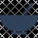Bowl Grinder Herbal Medication Kitchen Tool Icon