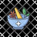 Ayurveda Treatment Mortar Icon
