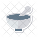 Ayurveda Bowl Mixing Icon