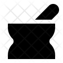 Ayurveda Mortar Pestle Icon