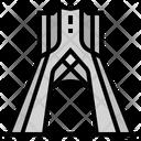 Azadi Tower Iran Icon