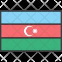 Azerbaijan Asian Country Icon