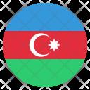 Azerbaijan National Country Icon