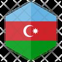 Azerbaijan Country Flag Icon