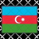 Azerbaijan Flag Flags Icon