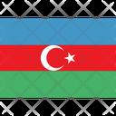 Flag Country Azerbaijan Icon