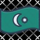 Azerbaijan Baku Border Icon