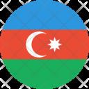 Azerbaijan Flag Country Icon