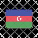 Azerbaijan Az Flag Country Icon