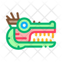 Aztec Monster Head Icon