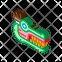 Aztec Monster Head Icon