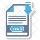 Azw 3 File Format Icon