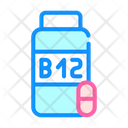 B 12 Tablets Icon