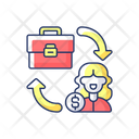 B 2 C Marketing B 2 C Client Icon