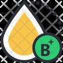 B Positive Blood Icon