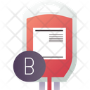 B Blood Group Icon