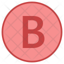 B button Icon