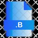 B File Icon