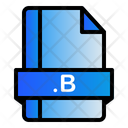 B Extension File Icon