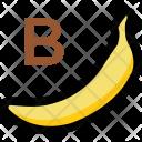 Alphabet B Banana Icon